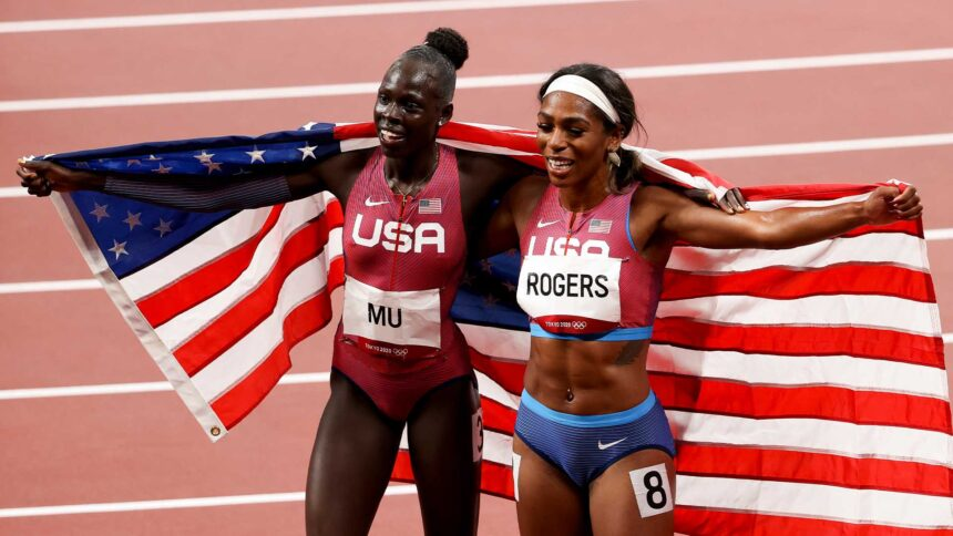 Athing Mu ends US drought with 800m gold, Rogers bronze - KTVZ