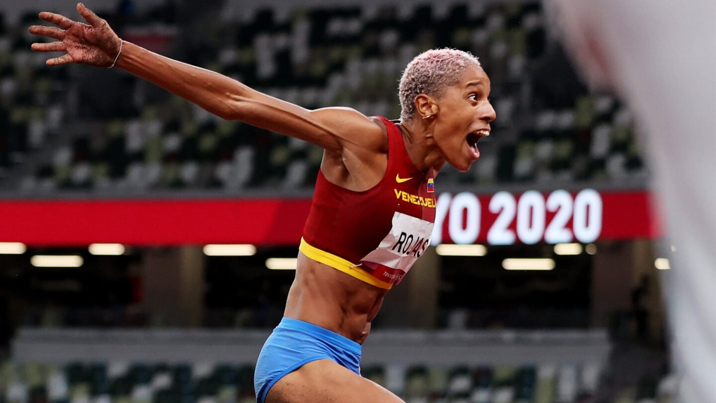 Yulimar Rojas smashes triple jump world record with 15.67m