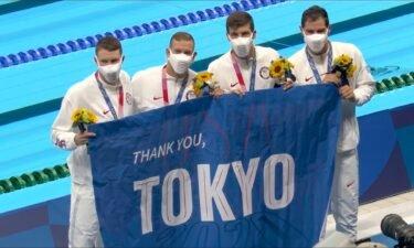 U.S. swim team's golden Olympic Games in Tokyo