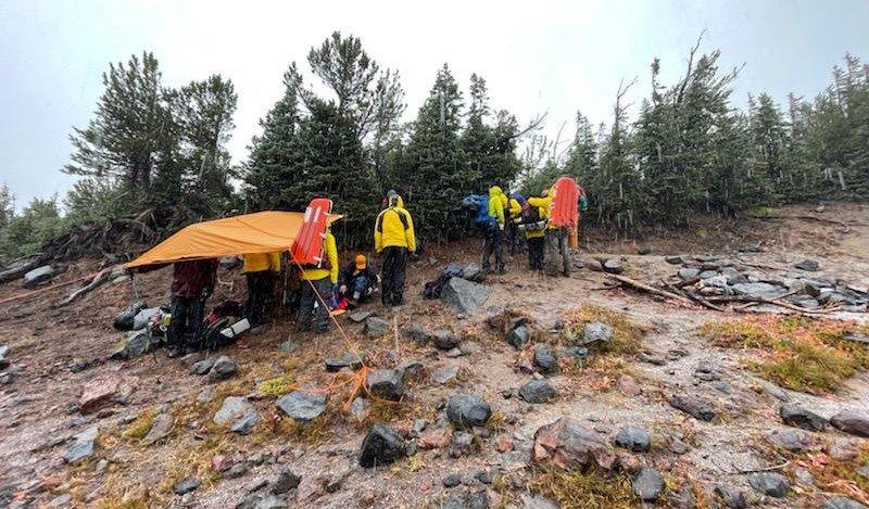 Camp Lake hiker rescue DCSO SAR 918