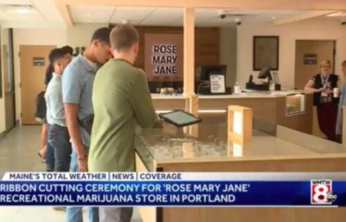 Portland's newest recreational marijuana shop opened Thursday on St. John Street. The owners of Rose Mary Jane are encouraging people who have been committed of nonviolent marijuana-related crimes to apply for a job.