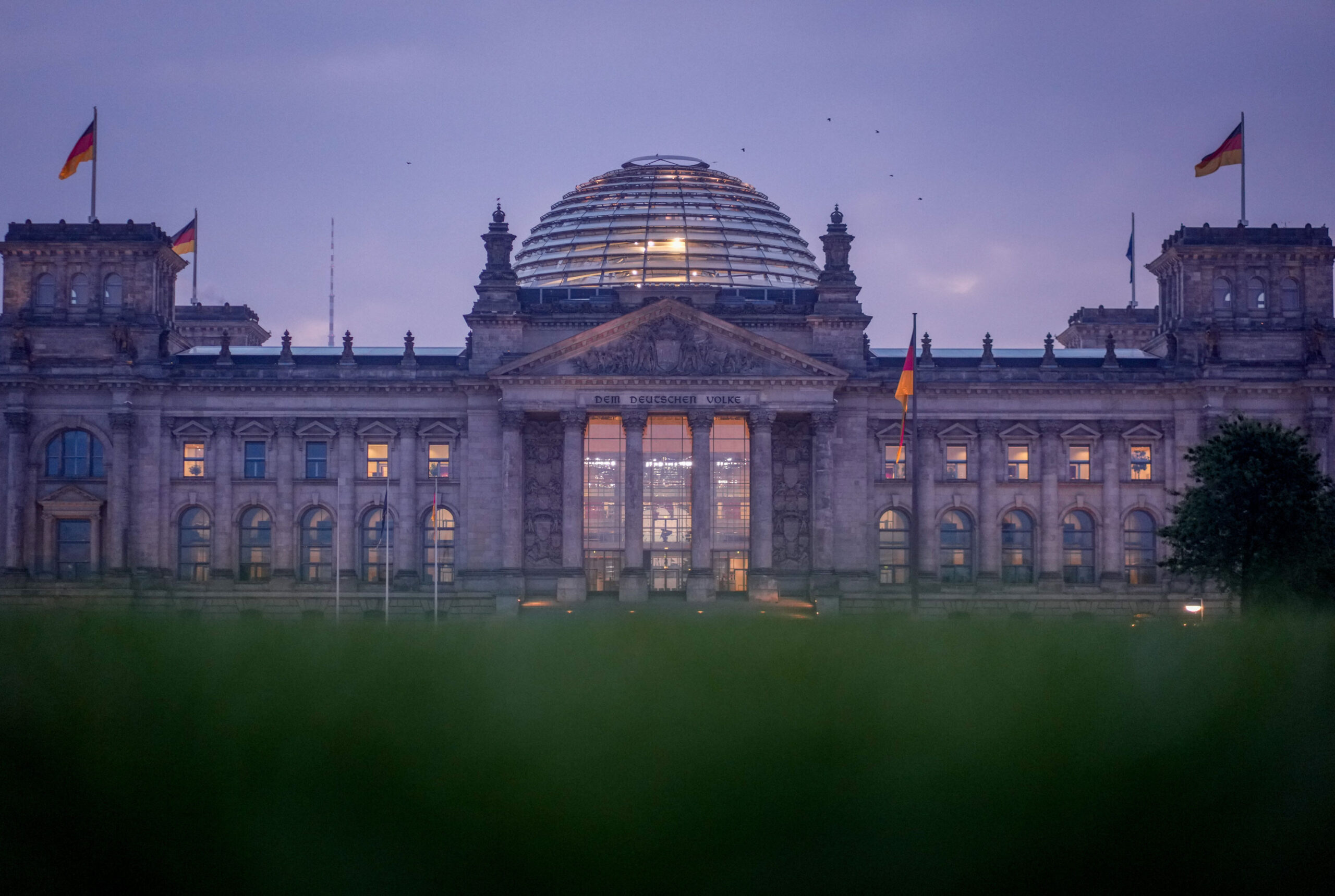 <i>Kay Nietfeld/Picture Alliance/Getty Images</i><br/>The Reichstag building in Berlin