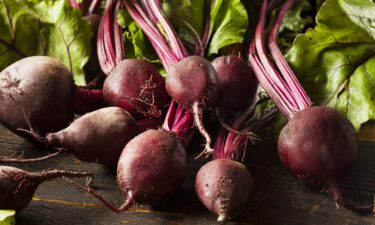 Beets are filled with nutrients like vitamin C and iron.