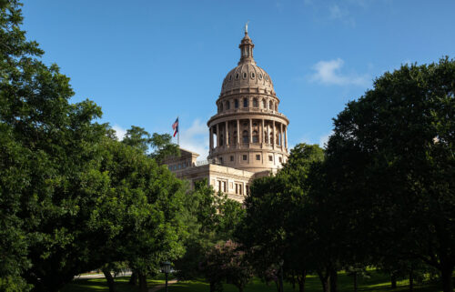 The Texas State Capitol is seen on the first day of the 87th Legislative Special Session on July 8 in Austin