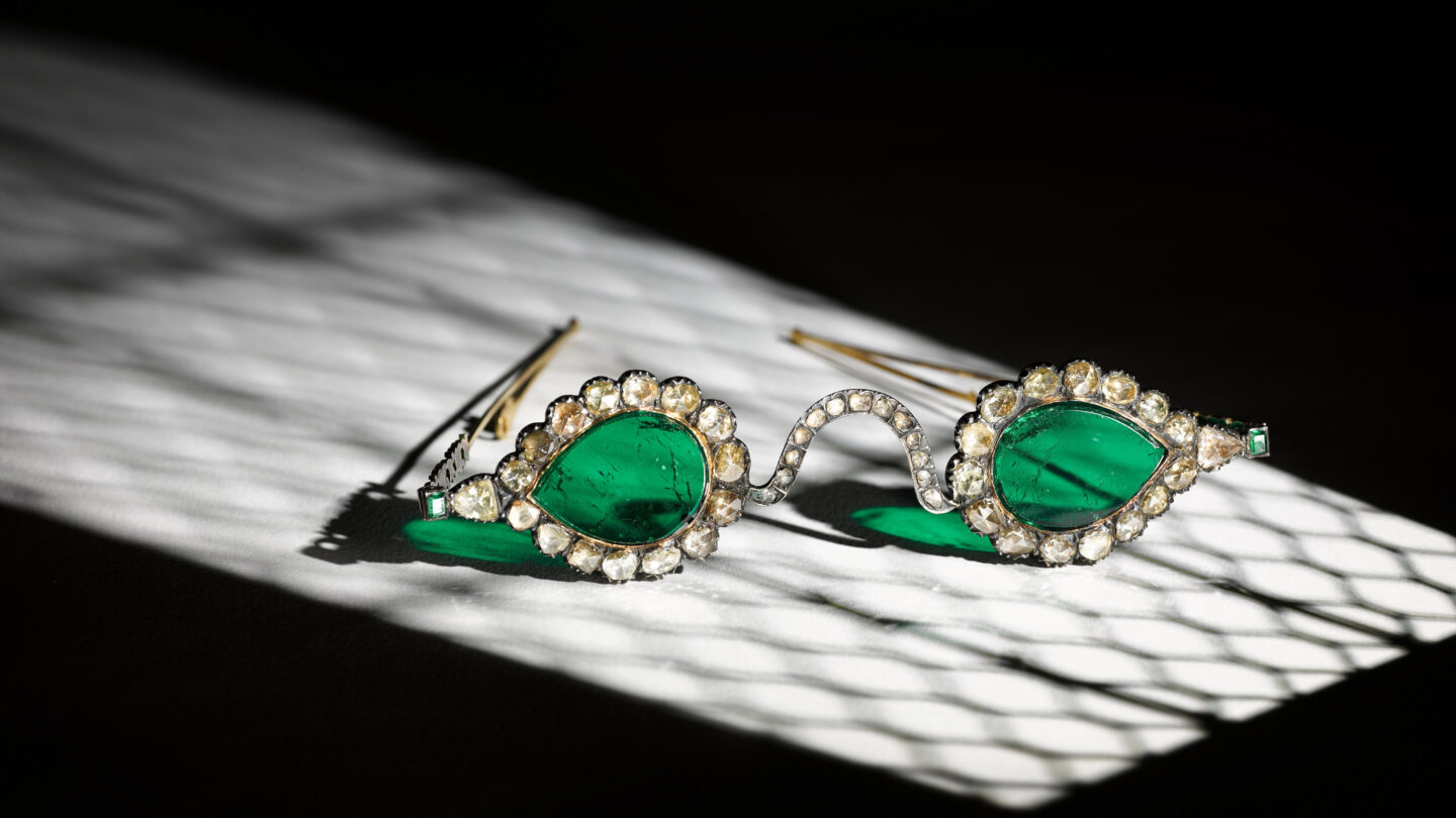 <i>Courtesy of Sotheby's</i><br/>The spectacles are expected to fetch up to $3.5 million each.