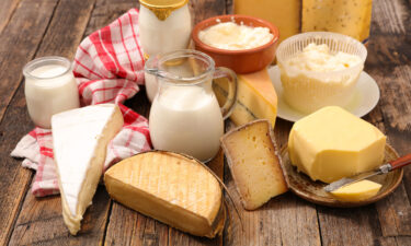 People with a higher consumption of dairy fat have a lower risk of cardiovascular disease than those with low intakes