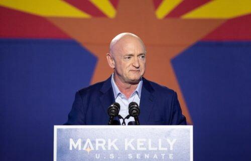 Democrat Mark Kelly is seeking to get reelected.