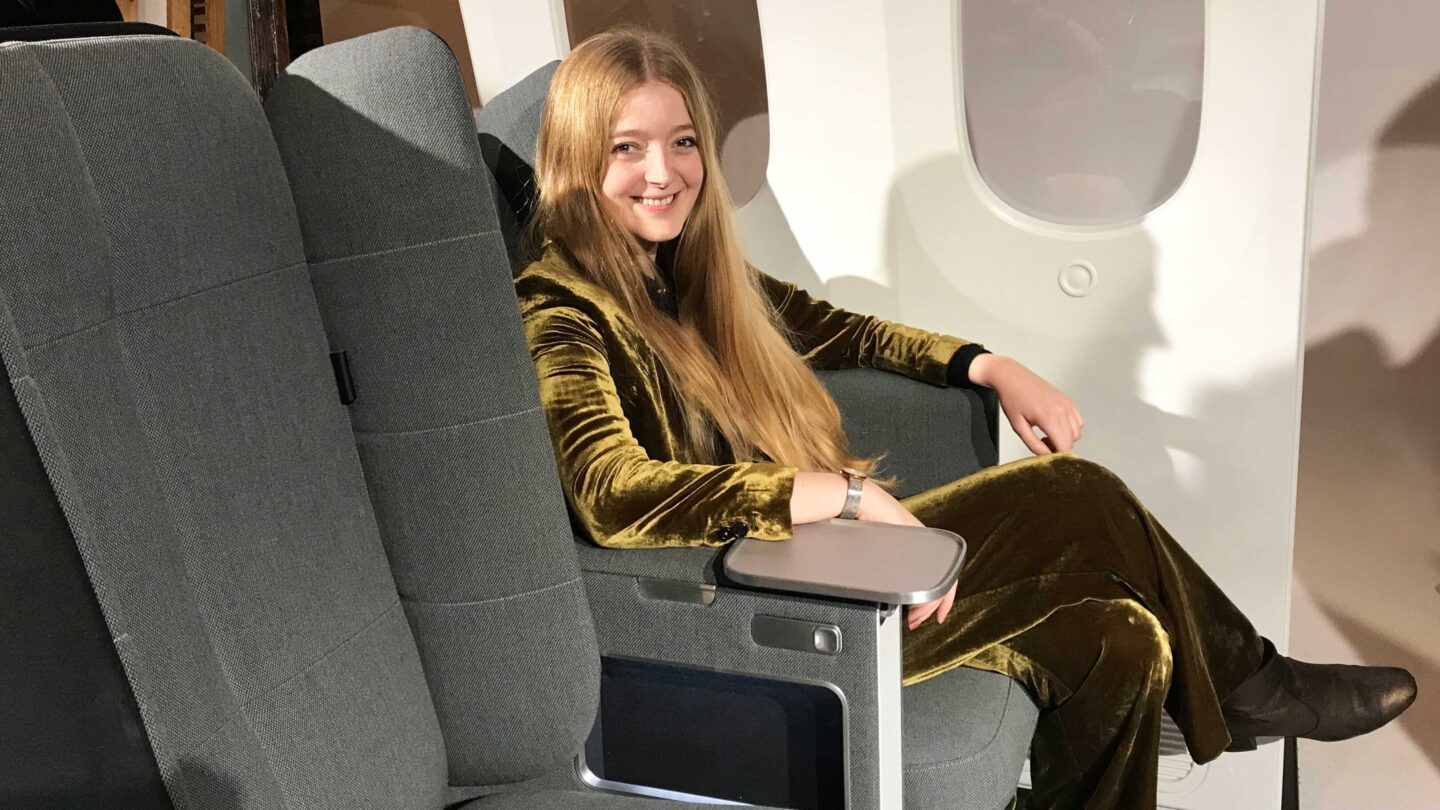 <i>Courtesy Francesca Street/CNN</i><br/>The Crystal Cabin Awards winners were announced at a virtual ceremony as part of the Aircraft Interiors Expo 2021