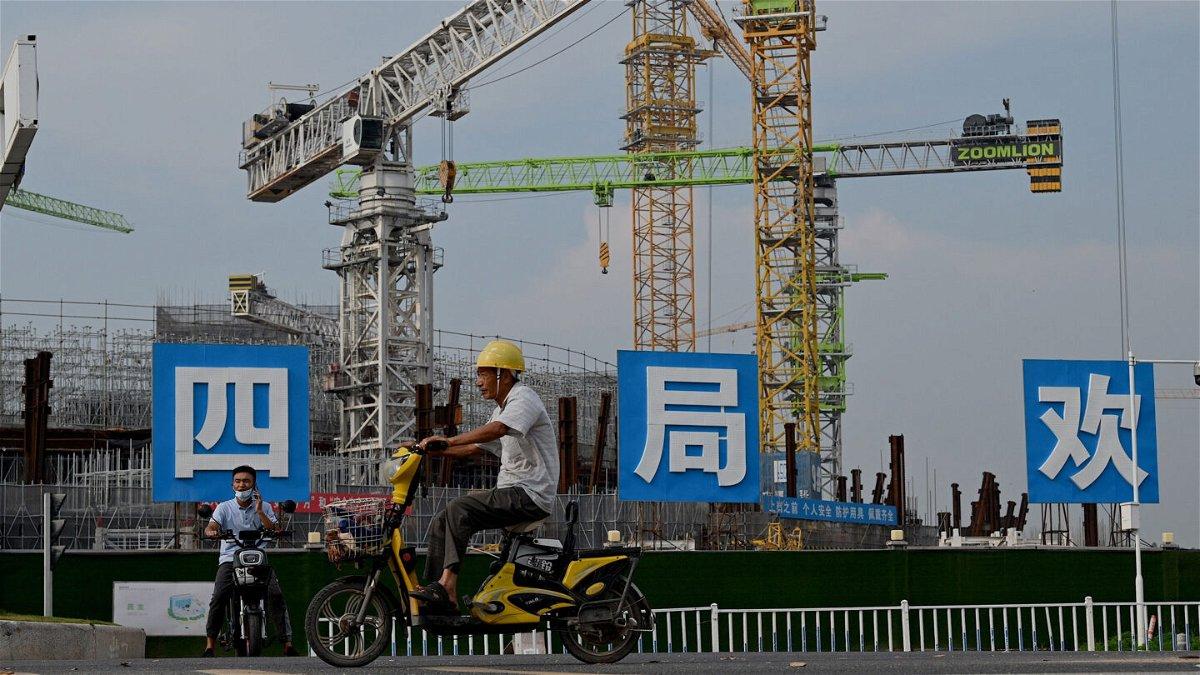 <i>NOEL CELIS/AFP via Getty Images</i><br/>The fate of ailing Chinese developer Evergrande