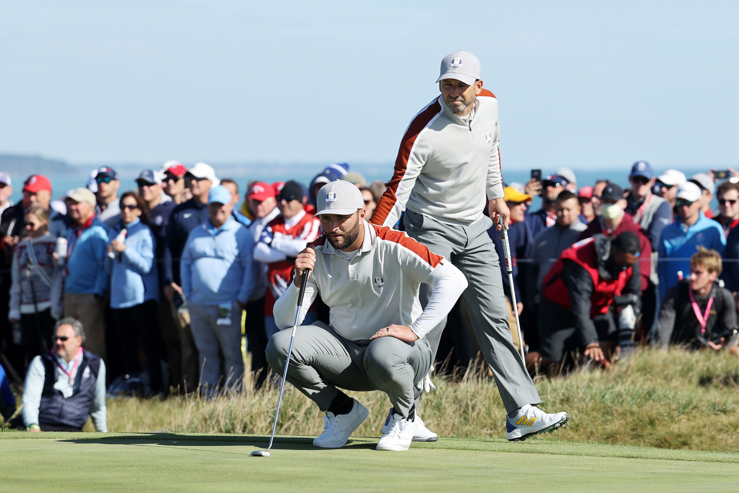 <i>Warren Little/Getty Images</i><br/>Sergio Garcia claimed his 24th Ryder Cup match victory