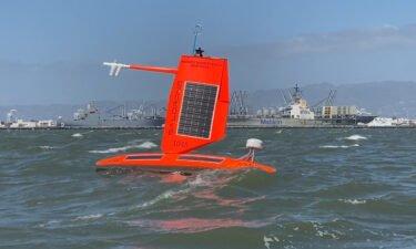 Saildrone makes autonomous ocean vessels to study the environment.