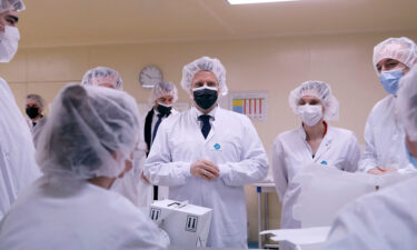 Thousands of healthcare workers are suspended in France after failing to get vaccinated. French President Emmanuel Macron announced the vaccination requirement in July.