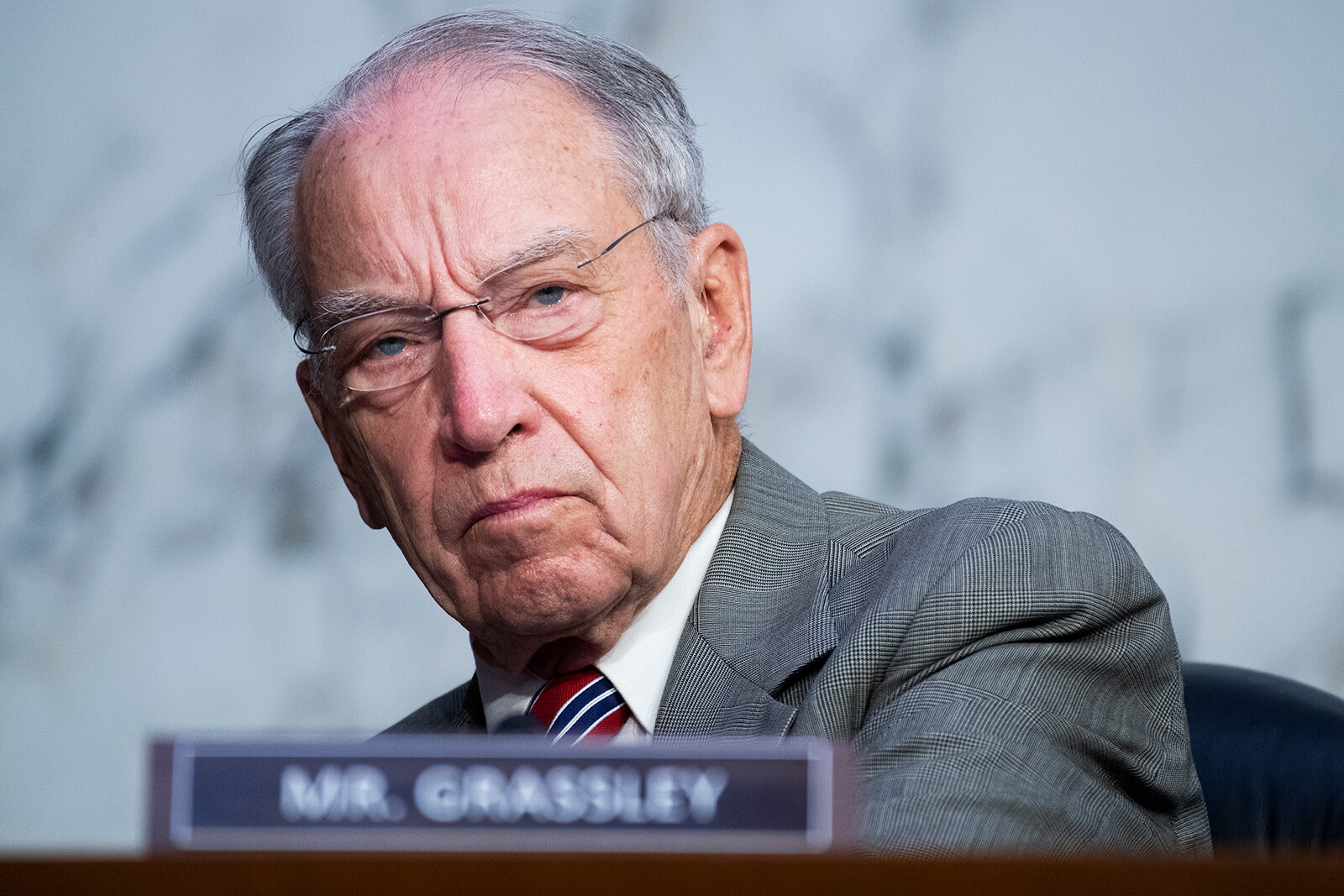 <i>Tom Williams/Pool/Getty Images</i><br/>Sen. Chuck Grassley is one of a number of key Senators considering whether to retire or run again in 2022.