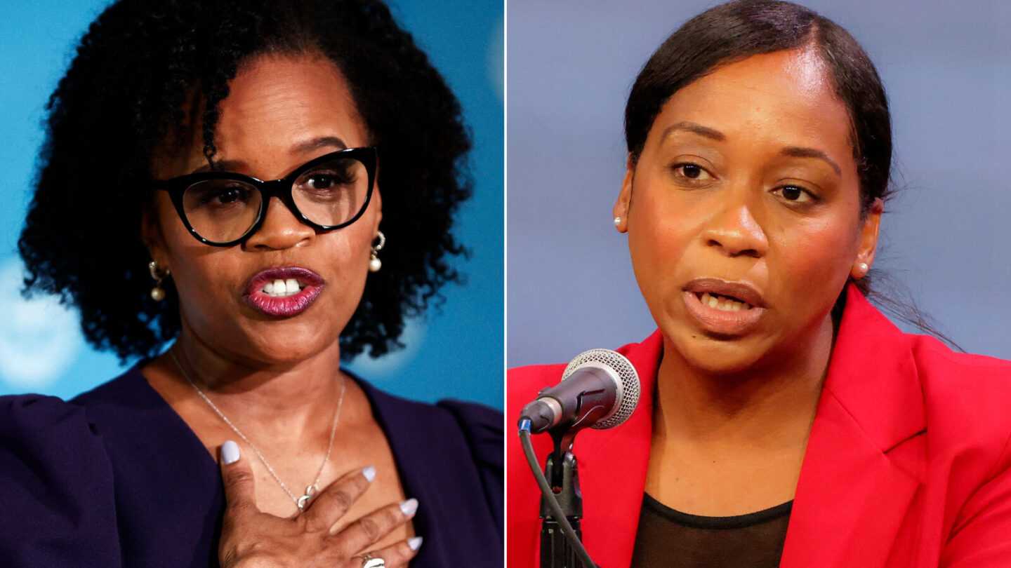 <i>Getty</i><br/>City Councilor Andrea Campbell and Acting Mayor Kim Janey conceded in the Boston's mayoral race.