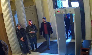 The criminal complaint says that Prenzlin can be seen on CCTV footage from inside the Capitol.
