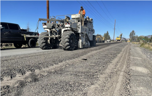Deschutes County's road construction project on NE 17th Street in Redmond