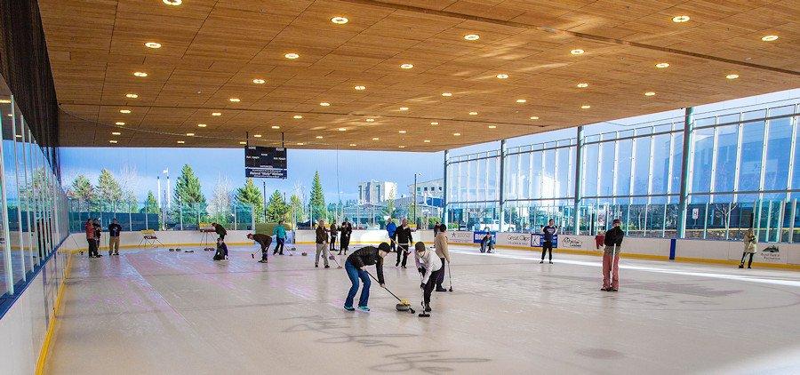 The Pavilion ice rink