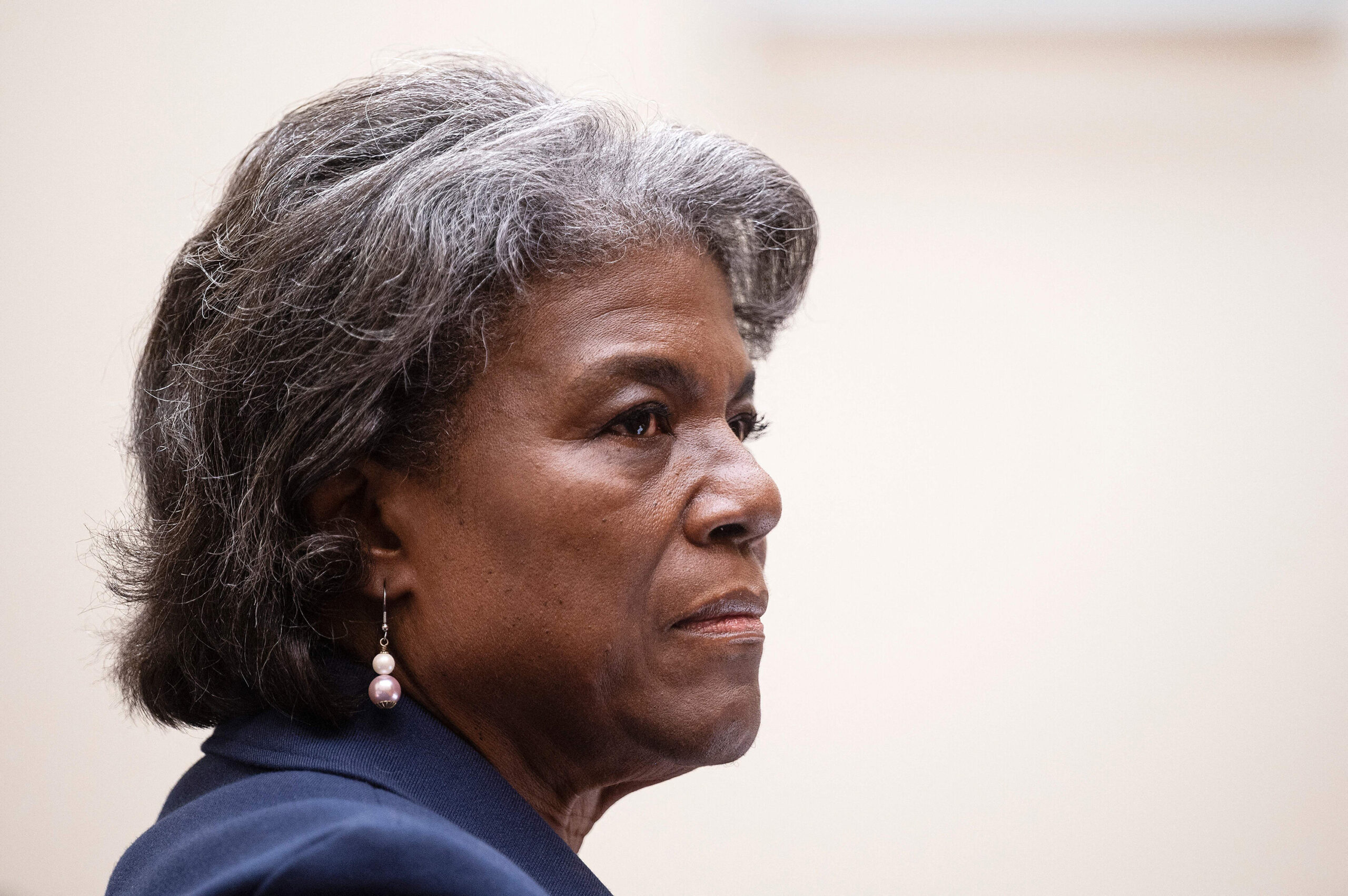 <i>Jim Watson/AFP/Getty Images</i><br/>The United States is officially a member of the controversial United Nations Human Rights Council again. US Ambassador to the United Nations Linda Thomas-Greenfield is shown here on Capitol Hill in Washington