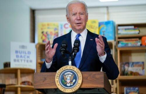 "President Joe Biden delivers remarks to promote his ""Build Back Better"" agenda"