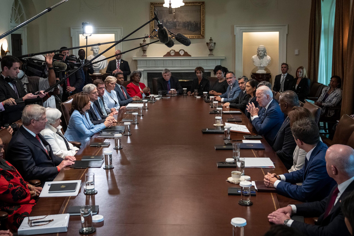 <i>Drew Angerer/Getty Images</i><br/>President Joe Biden