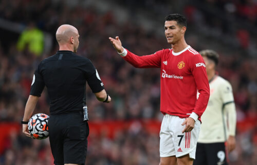 Cristiano Ronaldo failed to make an impact against Liverpool.