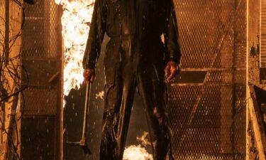 "Michael Myers is seen in ""Halloween Kills""."