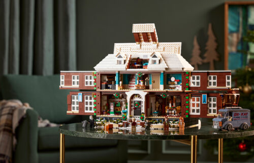 """Lego announced a new fan-designed replica of the house from the 1990 movie """"Home Alone."""""""