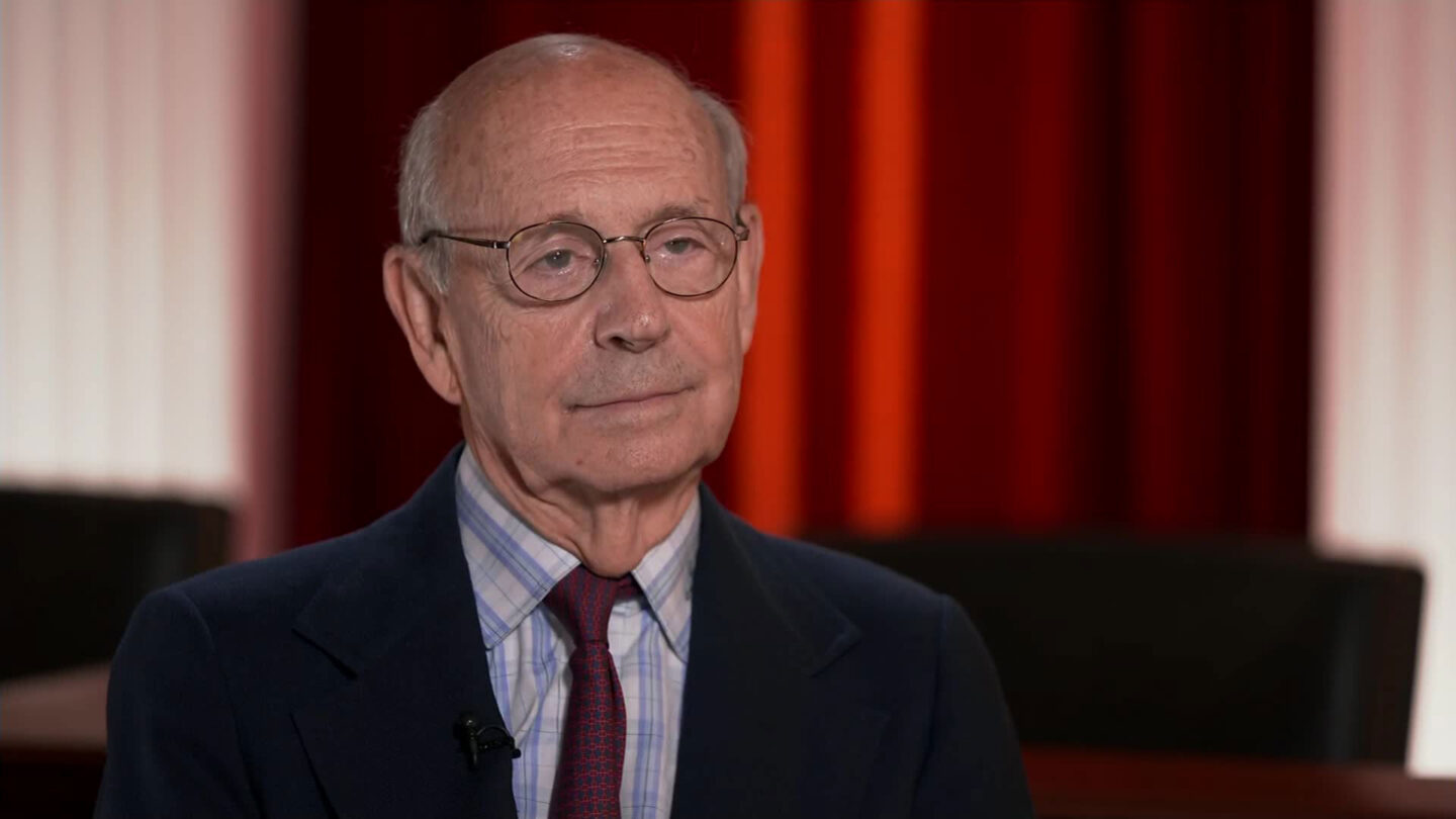 <i>CNN</i><br/>Justice Stephen Breyer sat down in a wide-ranging interview with CNN on Wednesday.