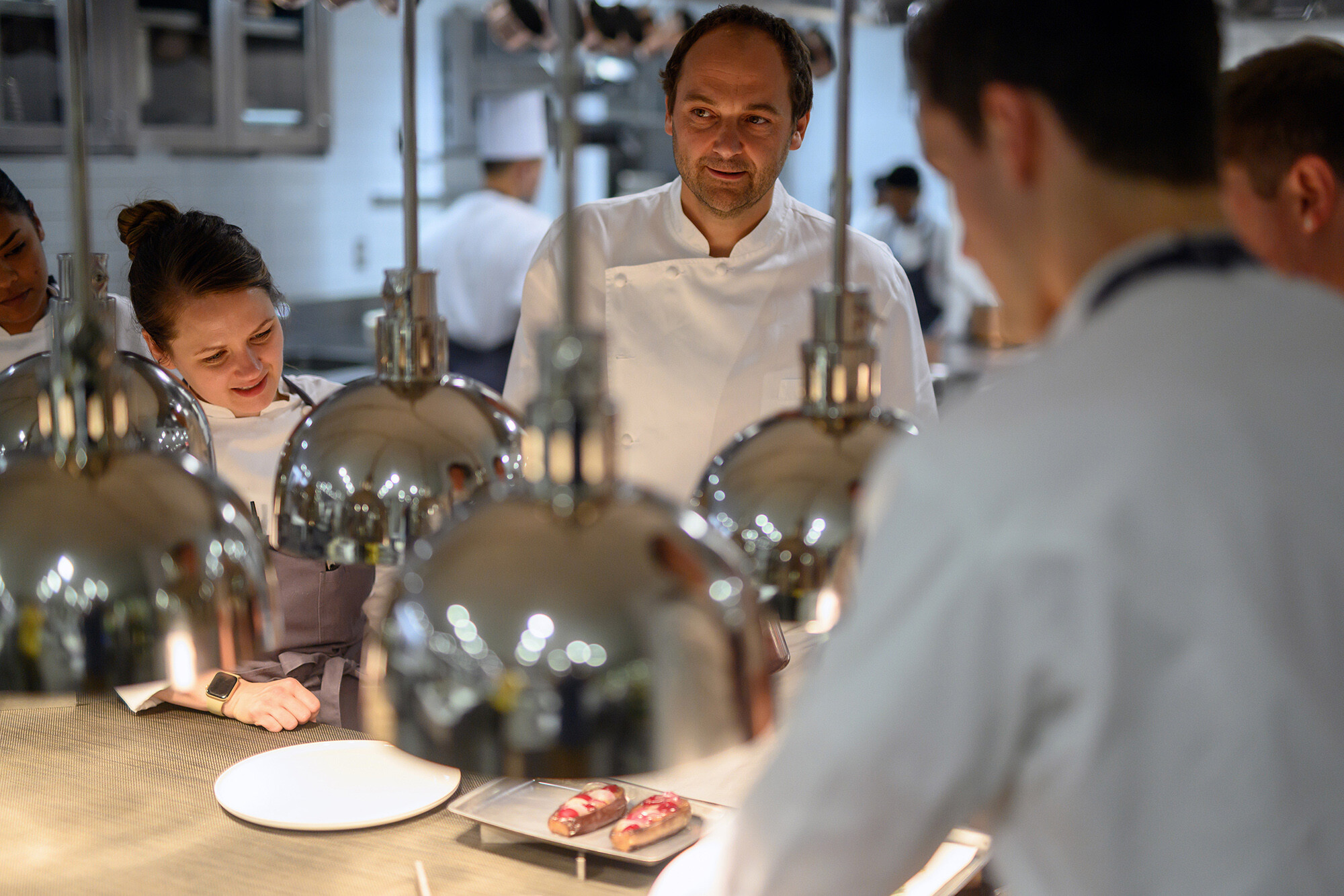 <i>Daniel Krieger/The New York Times/Redux</i><br/>Chef Daniel Humm and his staff have faced some scathing reviews of his new restaurant Eleven Madison Park.