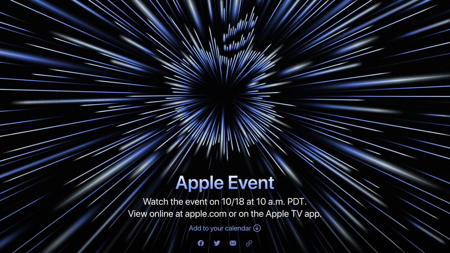 <i>Apple</i><br/>Apple is planning an October 18 event where it's expected to focus on new MacBooks. This will be Apple's second product launch event of the fall.
