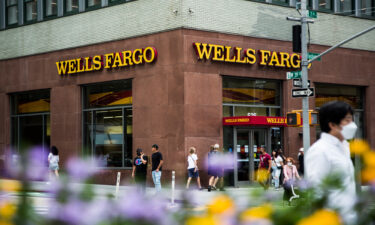 Wells Fargo's third-quarter earnings were up 59% after it freed up money it had set aside to cover loan losses.